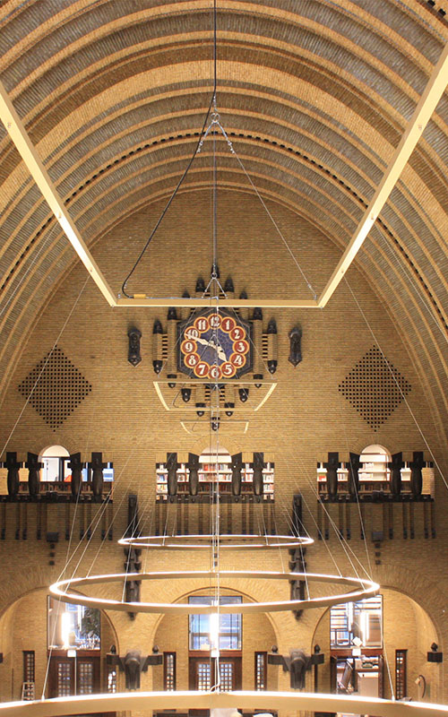 Centrale bibliotheek Neude Utrecht Maar Bouwmanagement