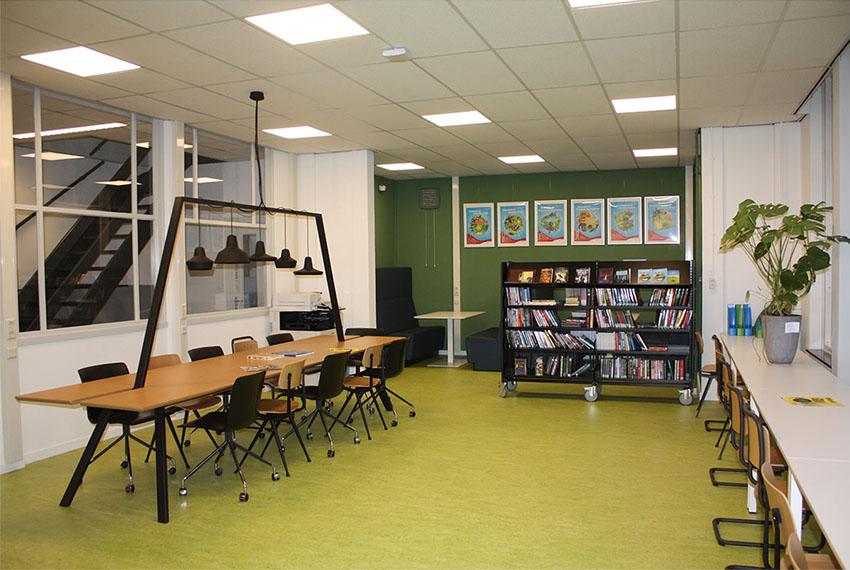 Tijdelijke huisvesting International School Delft Secondary Maar! bouwmanagement