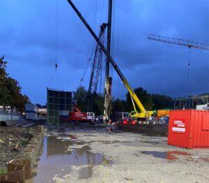 Hotel Jansen Bajeskwartier eerste paal start bouw Maar! bouwmanagement
